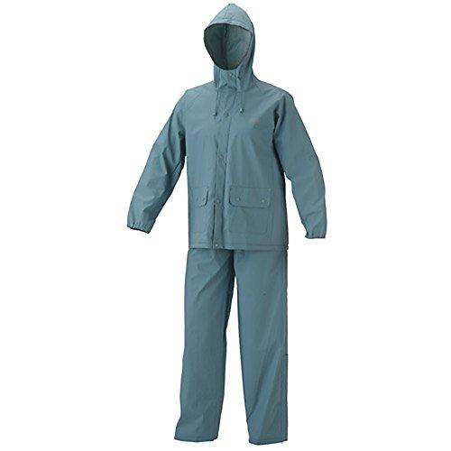 Coleman Adult PVC Rain Suit Large Gray