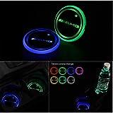 YSHtanj 1 par, cambia de color, con mando a distancia Luz LED para coche