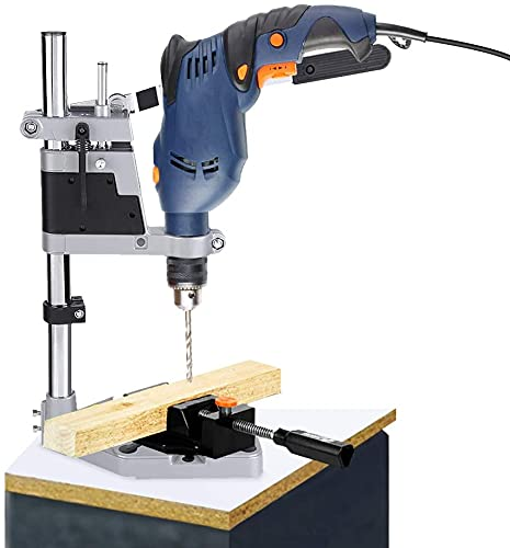 Adjustable Bench Clamp Drill Press Stand Workbench Repair Press Holder Grinder Bracket Table Stand Clamp Repair Tool Single Clamp