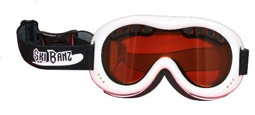 Baby Banz Ski Banz Goggles, White , 4