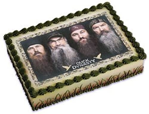 Duck Dynasty Edible Cake Topper by A Birthday Place