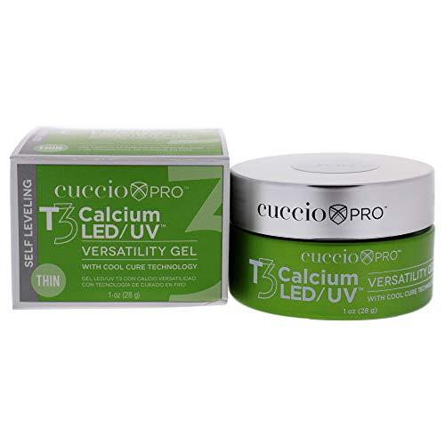 Cuccio Pro T3 Calcium Versatility Gel - Self Leveling Clear 1 Oz (I0099149)