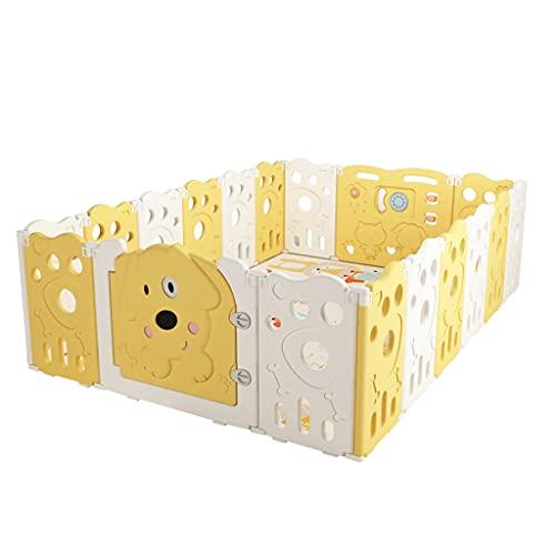Puzzles Parque Infantil, Cerca De Protección para Bebés De Interior, Almacén para Bebés para El Hogar, Cerca De Seguridad del Niño En El Suelo(Size:18+2 Pieces)