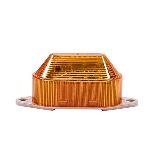 LTE-5051 DC 220V Lámpara de señal de destello amarilla Luz industrial brillante...