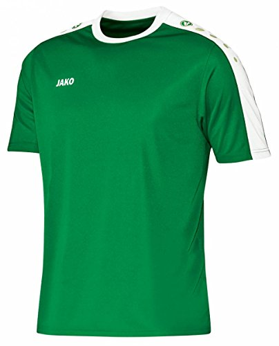 JAKO Kinder Trikot Striker KA, mehrfarbig(sportgrün/weiß), 116(Herstellergröße:S)
