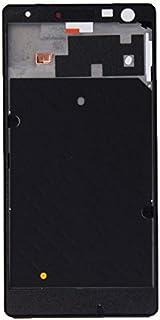 KONGXIpancase جبهة الإسكان LCD الإطار الحافة لوحة لنوكيا Lumia 730(أسود)