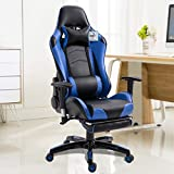 creatspaceIT Sedia Gaming Sedia da scrivania Sedia da Ufficio Sedia direzionale Sedia Girevole...