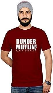 Workshop Graphic Printed T-Shirt for Men & Women | Funny Quote Dunder Mifflin | English Slogan Stylish T Shirt | Round Nec...