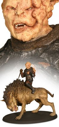 sideshow weta Gothmog On Warg Lord Of The Rings Statue