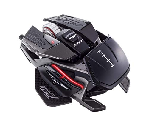 Mad Catz R.A.T. Pro X3 Gaming Mouse (USB/Black/16000dpi/10 Buttons) - MR05DCINBL001-0