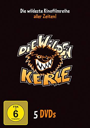 Die wilden Kerle - Die wildeste Kinofilmreihe aller Zeiten! [5 DVDs]