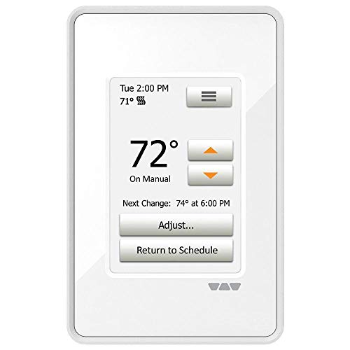DITRA-HEAT Termostato de calefacción de piso programable con pantalla táctil 120v / 240v DITRA-HEAT-E-RT