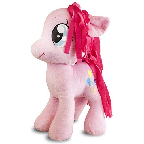 Hasbro My Little Pony Pinkie Pie Plush Cuddle Pillow - 20' Pink Pillow for Girls - Stuffed Animal Pillow