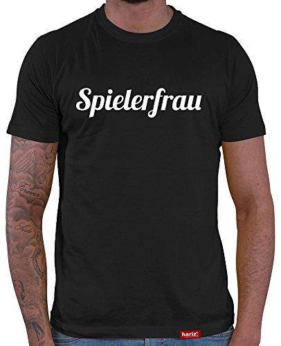 HARIZ Herren T-Shirt Spielerfrau Weltmeisterschaft Trikot WM Gratis Bang Sticks Deutschland Fussball Collection Black XL