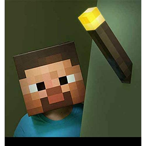 Think Geek - Réplique Torche Minecraft 28Cm - 0847509001486