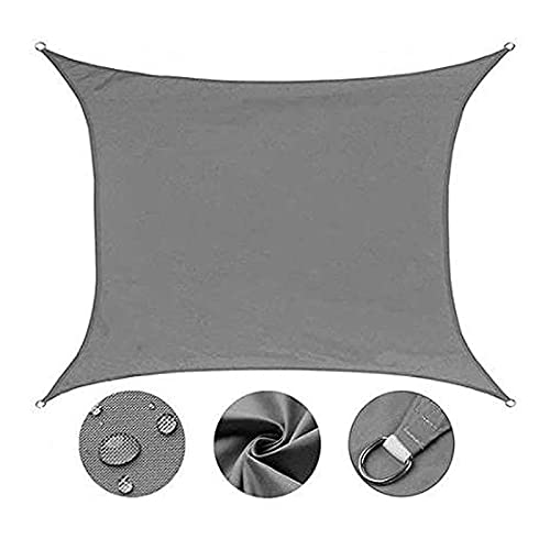KFDQ Sonnensegel, Garten Sail Shade Sonnencreme-Terrasse Baldachin Rechteck Markise 95% Uv-Block Im Freien D-Ring Secure Seil Stabil Robuste Sicherheit
