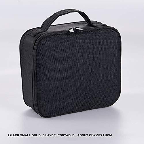 Tucson professional empty makeup organizer travel cosmetic case large capacity storage bag suitcases