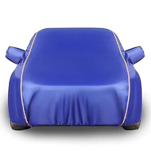 Car Covers Autoplane Autoabdeckung kompatibel mit Volkswagen Jetta,Autohülle Autogarage Vollgarage Hagelschutz Staubdicht Wasserdicht Autohülle Autoplane Sonnenschutz (Color : Blue, Size : Saloon)