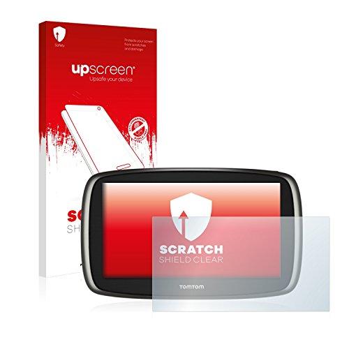 upscreen Protector Pantalla Compatible con Tomtom Start 60 2014 Película Protectora – Transparente, Anti-Huellas