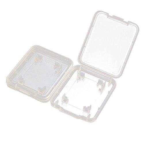 SD carte boite - SODIAL(R) boite pour SD carte transparent 10 pieces boitier Sd carte arranger les SD carte et SDHC carte