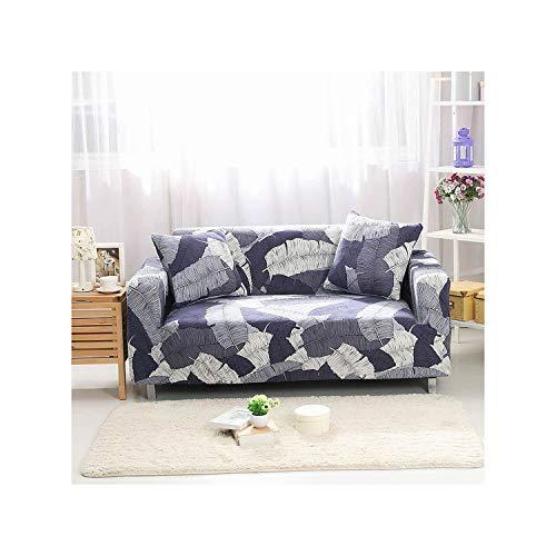 Lou Chapman Elastic-Sofa-Abdeckung für Wohnzimmer Spandex Sessel Abdeckung gedruckte Blumen-Couch Cover 4 Verfügbar Größe, Farbe 14,4-Seater 235-300cm