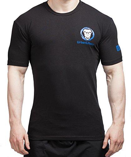 Camisetas de Entrenamiento Atleta Fit - Urban Lifters Gym/Crossfit T-Shirt (L)
