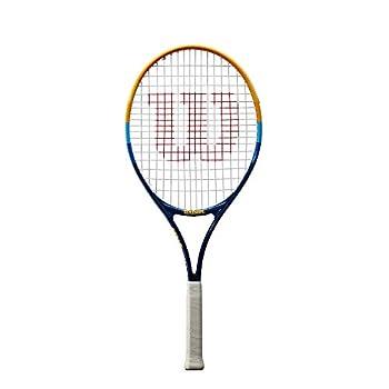 Wilson Junior Prime 25  Tennis Racket  Blue/Orange