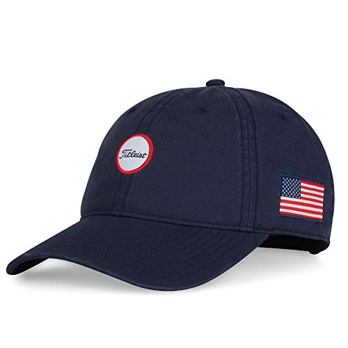 Titleist - Stars & Stripes Montauk Garment Wash Golf Hat - Navy/White