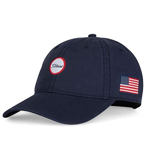 Titleist - Stars & Stripes Montauk Garment Wash Golf Hat -...