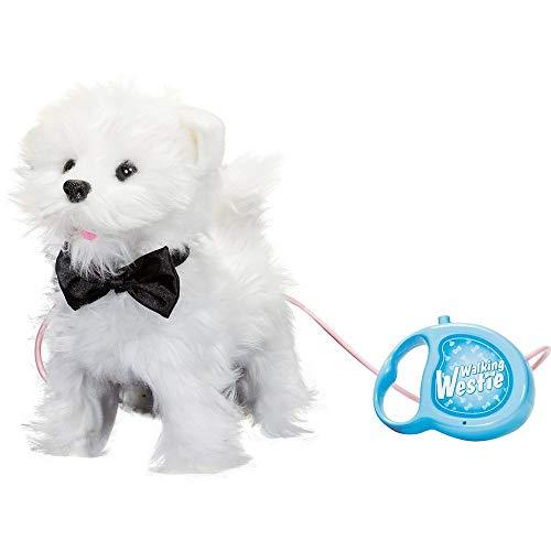Walking / Yapping / Wagging / Hugable Toy Dog Westie