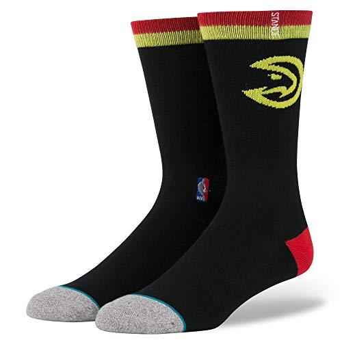Stance Atlanta Hawks Arena Logo NBA Calcetines Negro