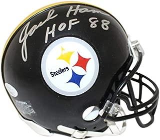 Jack Ham Autographed Signed Pittsburgh Steelers Mini Helmet HOF JSA