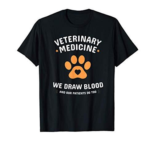 Cita de la pata de la medicina veterinaria Camiseta
