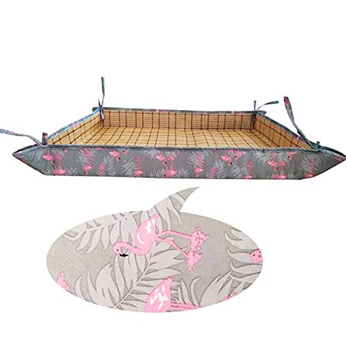 Cama Perro Antipelos Dog Cooling Mat Large Self Cooling Dog Mat Dog Cool Mat Pet Bed Dog Cooling Dog Bed Large Dog Mats Cat Cushion X-Large,Flamingo