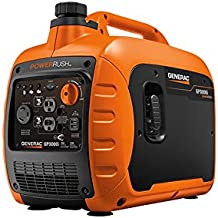 Generac GP3000i Super Quiet Inverter Generator – 3000 Starting Watts with PowerRush Technology