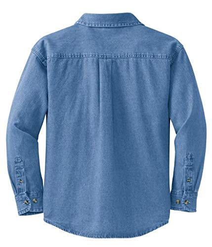 Ladies Long Sleeve Value Denim Shirts in Sizes XS-4XL
