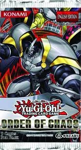 YUGIOH Order of Chaos Booster