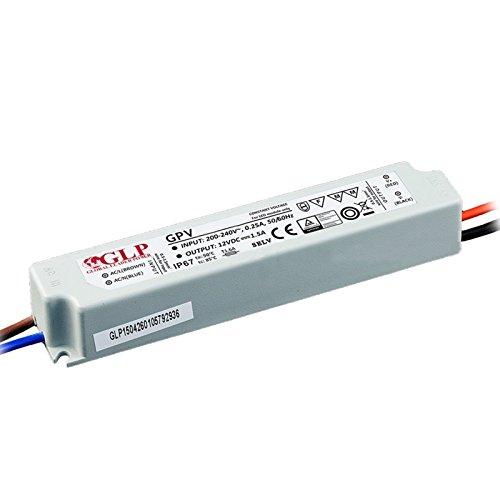 LED Leuchtmittel Trafo 12V DC Color 35 Watt 1,5-6A Treiber Transformator für Lichtband Montage Gleichstrom Konstantstrom Spannungswandler Konverter Schaltnetzteil