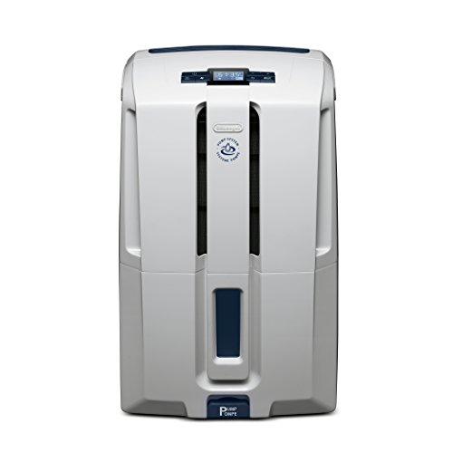 Delonghi Energy Star 45 Pint Dehumidifier with AAFA Certification, White
