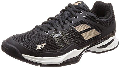 Babolat Chaussures de Tennis Jet Mach I All Court pour Homme, Noir, 42