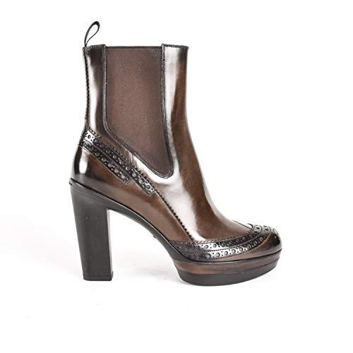 Santoni Damen-Stiefel, Braun - Dunkelbraun - Größe: 37 EU
