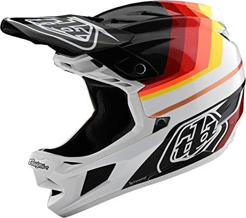 Troy Lee Designs D4 Carbon Helmet Mirage Black/Red, M