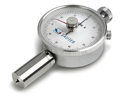 Sauter HBA 100-0. Handlicher Shore-Durometer mit Schleppzeiger