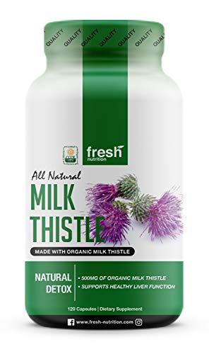 Milk Thistle Organic - 120 Servings of 2000mg - Strong