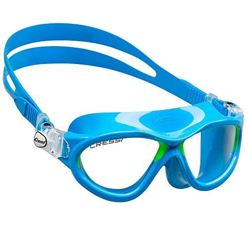 Cressi Premium Schwimmbrille Kinder 2/15 Jahre 100% UV Schutz + Tasche - Hergestellt in Italien
