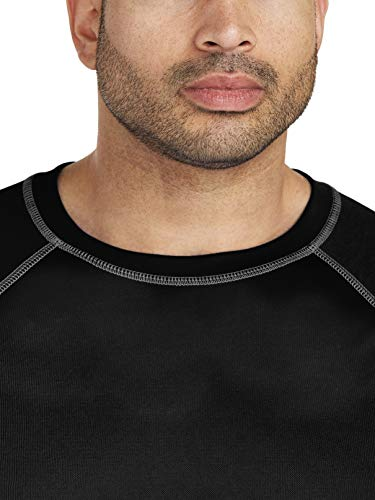 Amazon Essentials Men's Big & Tall Short-Sleeve Quick-Dry UPF 50 Swim Tee fit by DXL