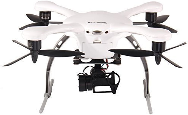 EHANG GHOST Drone Aerial Quadcopter (Android   Wei) - Kompatibel mit GoPro Hero 2 3 3+ 4 Kamera
