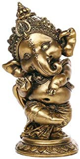Pacific Giftware Ganesha The Hindu Elephant Deity Dancing Ganesh Figurine Sculpture 6 Inch H