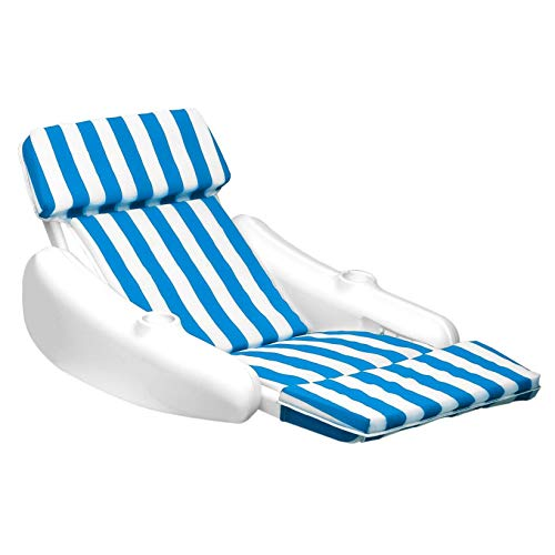 Swimline SunChaser Swimming Pool Padded Floating Luxury Chair Lounger (2 Pack) -  2x10010M