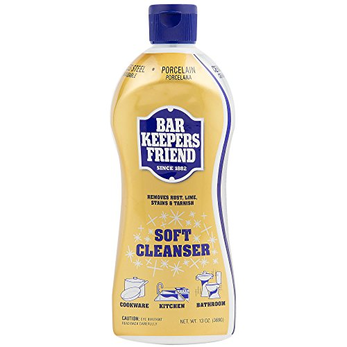 Bar Keepers Friend Soft Cleaner Premixed Formula | 13 oz | (1 Pack)